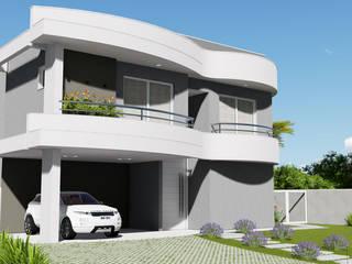 Projeto Arquitetura Residencial ST19 Casas modernas por arquiteto bignotto Moderno