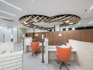 Study/office by 제이에이치와이 건축사사무소