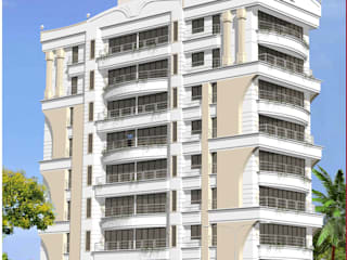 Maharani Tower: modern Houses by Koncept Architects & Interior Designers,