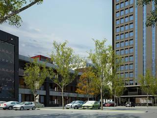 Renovate : Facade Tasniya Building Dsire9 Studio