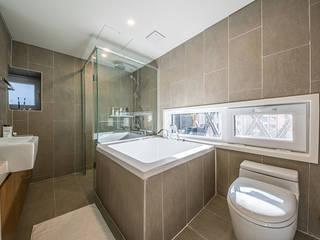 양재동 다세대주택: 제이에이치와이 건축사사무소의  욕실