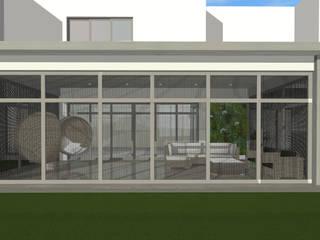 Modern Terrace by Kirsty Badenhorst Interiors Modern