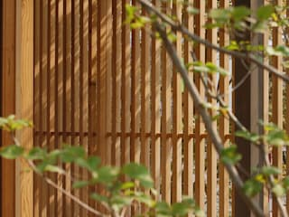 環アソシエイツ・高岸設計室 Windows & doors Windows Wood Wood effect