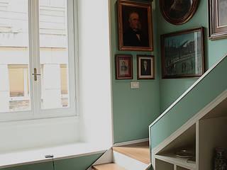 Progetto Francesca - Milano Ingresso, Corridoio & Scale in stile classico di Giorgio Gravina Classico