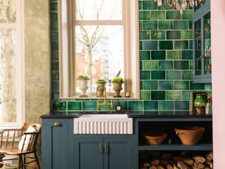 The St. John's Square Showroom, deVOL Kitchens deVOL Kitchens KitchenCabinets & shelves Wood