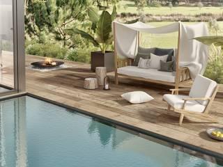Villa Tendenza - Algarve : Casas rústicas por Tendenza -  Interiors & Architecture Studio