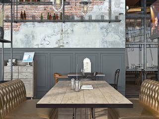 Дизайн ресторана Бирмастер (Bier Meister) Бары и клубы в стиле лофт от OBJECT Лофт