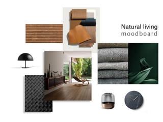 Moodboard:   por Tendenza -  Interiors & Architecture Studio
