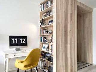 scandinavian Study/office by INT2architecture
