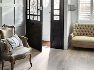 Dusk, New England and White Brushed Engineered Wood Flooring: classic  by The Natural Wood Floor Company, Classic