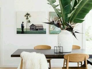 Tendencias 2017: Salas de jantar escandinavas por Amélia Barbieri Interior Design