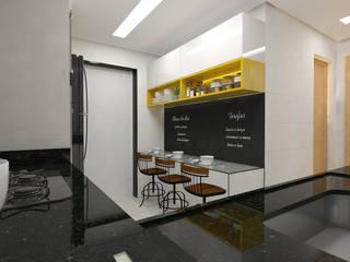 APTO. PR Cozinhas modernas por Impelizieri Arquitetura Moderno