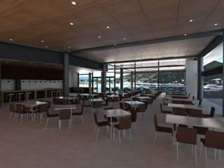 Terminal de Cruceros de Power Renders Moderno