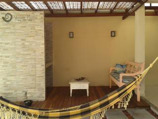 Nhà theo Atelier Plural, Mộc mạc