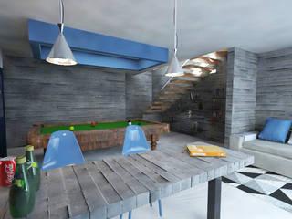 Casa Olaf:  de estilo  por Tres-r