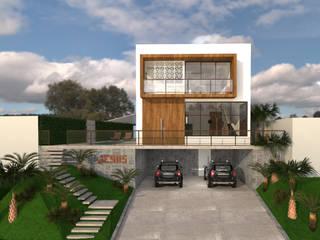 CASA DO LAGO Casas modernas por Impelizieri Arquitetura Moderno