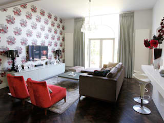 Staveley Road W4:  Living room by fleur ward interior design