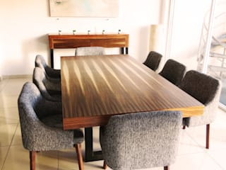 Diseñeria 72ocho10 Dining roomTables Kayu Wood effect