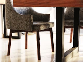 Diseñeria 72ocho10 Dining roomChairs & benches Kayu Wood effect
