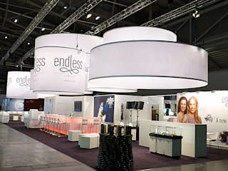 Messestand Endless Jewelry:  Messe Design von SW  Retail+Interior Design