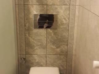 Large Mimarlik – Küçük bir banyoda hamam keyfi:  tarz Banyo