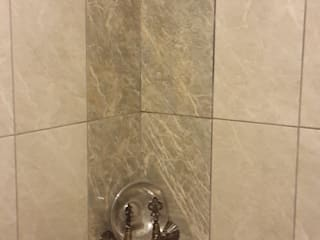 Large Mimarlik – Küçük bir banyoda hamam keyfi: modern tarz Banyo