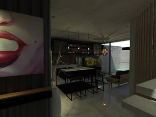 Industrial style kitchen by Espacio en Blanco Industrial