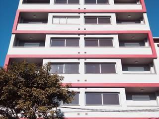 EDIFICIO RESIDENCIAL Casas minimalistas de LOSADA ARQUITECTURA Minimalista