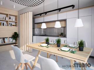 MIKOŁAJSKAstudio Modern Dining Room