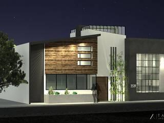 RESIDENCIA TNG: Casas de estilo  por TANGENTE ARQUITECTURA LOCAL