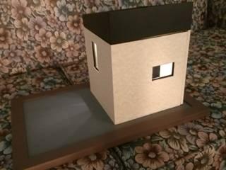 Cube Project QB1: Casas de estilo  por Maquetas JCM