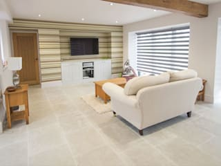 Interior Living Room Limestone Floor Salon classique par Lincolnshire Limestone Flooring Classique