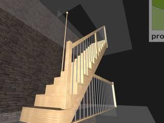 Projekt i wizualizacja schodów wraz z szablonami: styl , w kategorii  zaprojektowany przez projekty.schody.PL