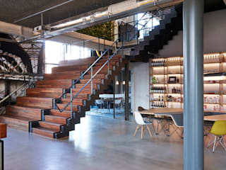 Industriale Bars & Clubs von VASD interieur & architectuur Industrial