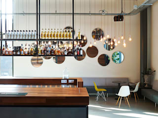 VASD interieur & architectuur Bar & Club in stile industrial