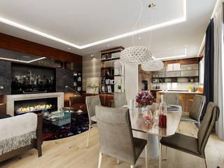 Luksusowy apartament na Pradze w Warszawie od Viva Design - projektowanie wnętrz