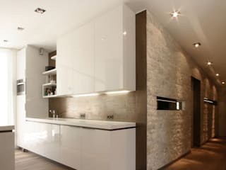 Modern Kitchen by Egg and Dart Corporation GmbH & Co.KG | München Modern