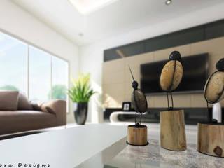 Moderne Wohnzimmer von Mirva Vora Designs Modern