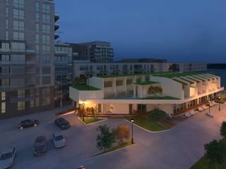 Maquete Eletrônica Vitruvius 3D Casas modernas