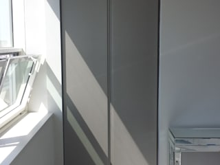 Fitted Hinged Door Wardrobes and Fitted Alcoves:   by Kleiderhaus ltd
