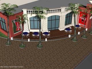 Bar Temático Deportivo Bares y clubs de estilo ecléctico de Valy Ecléctico
