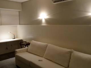 Salas multimedia de estilo moderno de Bahia Infra Moderno