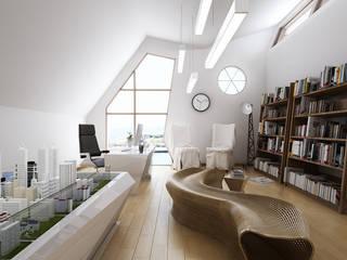 Wonstudios Architectural Rendering Services Oficinas y comercios de estilo moderno de Wonstudios Moderno
