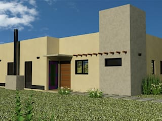 Proyecto casa unifamiliar Casas minimalistas de Valy Minimalista
