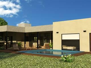 Casas de estilo minimalista de Valy Minimalista