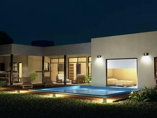 Proyecto casa unifamiliar: Casas de estilo  por Valy,Minimalista