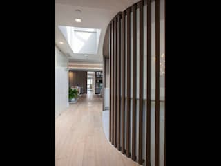 Modern Corridor, Hallway and Staircase by Eisner Design Modern