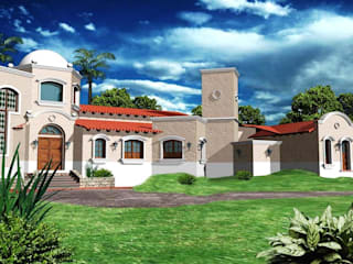 Proyecto de Vivienda unifamiliar: Casas de estilo  por Valy