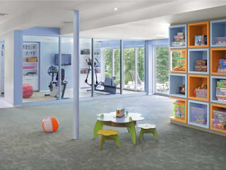Modern gym by Eisner Design Modern