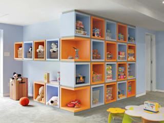 : modern Nursery/kid's room by Eisner Design